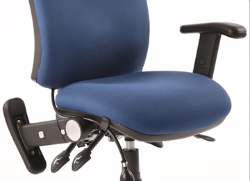 Picture of Office Chair Company Chiro Swivel Back And Height Adjustable Foldaway Arm