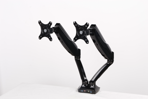 Picture of Office Chair Company Easy Adjust Dual Monitor Arm in Black