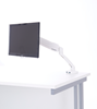 Picture of Office Chair Company Easy Adjust Single Monitor Arm in White