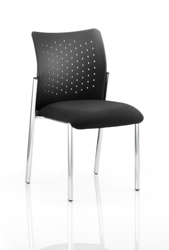 Picture of Office Chair Company Academy Visitor Chair Black Without Arms