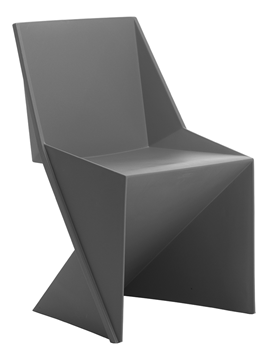 Picture of Office Chair Company Freedom Visitor Stacking Chair Charcoal Polypropylene