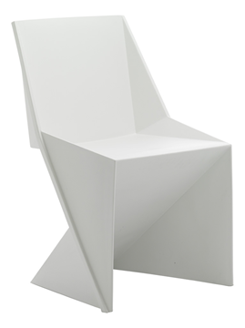 Picture of Office Chair Company Freedom Visitor Stacking Chair White Polypropylene