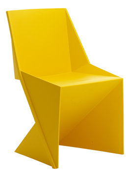 Picture of Office Chair Company Freedom Visitor Stacking Chair Yellow Polypropylene