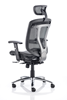 Picture of Office Chair Company Mirage Visitor Cantilever Black Mesh With Arms
