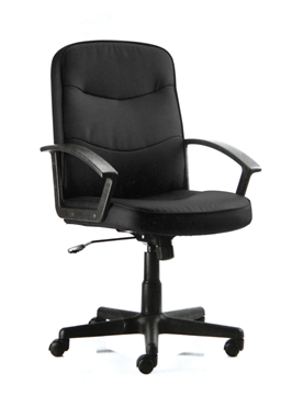 Picture of Office Chair Company Harley Executive Chair Black Fabric With Arms