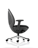 Picture of Office Chair Company Revo Task Operator Chair Black Shell Charcoal Mesh With Arms