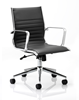 Picture of Office Chair Company Ritz Executive Chair Black Bonded Leather Medium Back With Arms