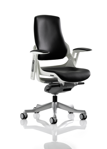 Picture of Office Chair Company Zure Executive Chair Black Leather With Arms