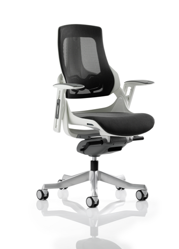 Picture of Office Chair Company Zure Executive Chair Charcoal Mesh With Arms