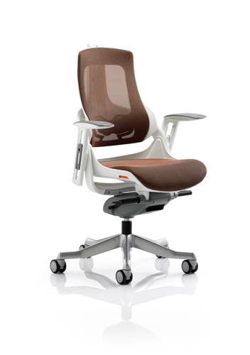Picture of Office Chair Company Zure Executive Chair Mandarin Mesh With Arms