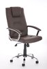Picture of Office Chair Company Thrift Executive Chair Brown Bonded Leather With Padded Arms