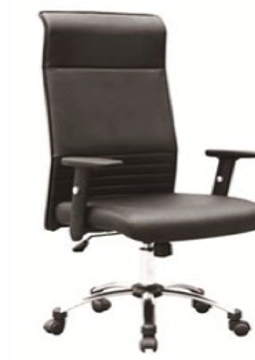 Picture of Office Chair Company Swift Executive Bonded Leather High Back Chair With Arms