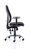 Picture of Office Chair Company Eclipse XL III Lever Task Operator Chair Black With Height Adjustable Arms