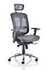 Picture of Office Chair Company Mirage II Executive Chair Black Mesh With Arms With Headrest