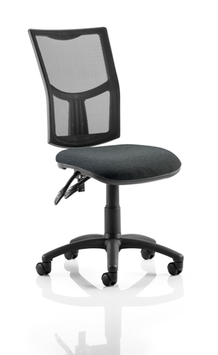 Picture of Office Chair Company Eclipse II Lever Task Operator Chair Mesh Back With Charcoal Seat