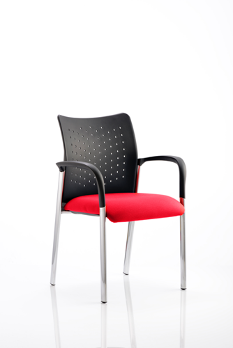 Picture of Office Chair Company Academy Bespoke Colour Seat With Arms Cherry