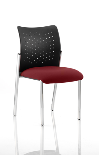 Picture of Office Chair Company Academy Bespoke Colour Seat Without Arms Chilli