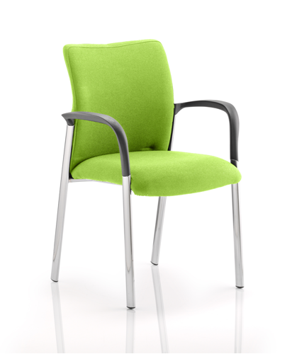 Picture of Office Chair Company Academy Bespoke Colour Fabric Back And Bespoke Colour Seat With Arms Swizzle