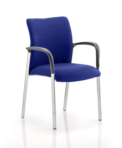 Picture of Office Chair Company Academy Bespoke Colour Fabric Back And Bespoke Colour Seat With Arms Serene