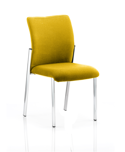 Picture of Office Chair Company Academy Bespoke Colour Fabric Back With Bespoke Colour Seat Without Arms Sunset