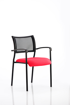 Picture of Office Chair Company Brunswick Bespoke Colour Seat Black Frame Cherry
