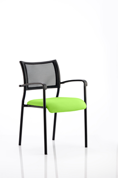 Picture of Office Chair Company Brunswick Bespoke Colour Seat Black Frame Swizzle