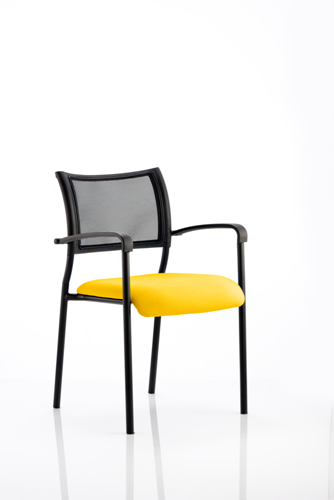 Picture of Office Chair Company Brunswick Bespoke Colour Seat Black Frame Sunset