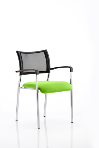 Picture of Office Chair Company Brunswick Bespoke Colour Seat Chrome Frame Swizzle