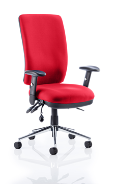 Picture of Office Chair Company Chiro High Back Bespoke Colour Cherry