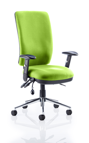 Picture of Office Chair Company Chiro High Back Bespoke Colour Swizzle