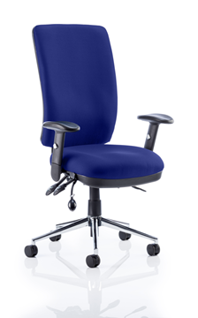 Picture of Office Chair Company Chiro High Back Bespoke Colour Serene
