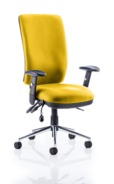 Picture of Office Chair Company Chiro High Back Bespoke Colour Sunset