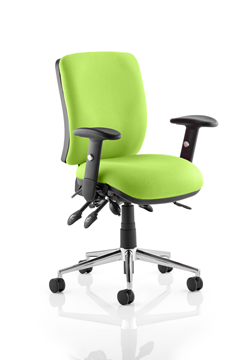 Picture of Office Chair Company Chiro Medium Back Bespoke Colour  Swizzle
