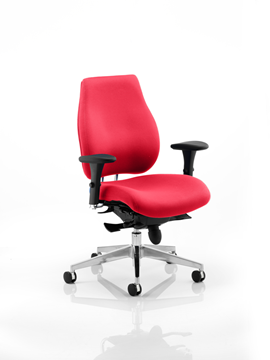 Picture of Office Chair Company Chiro Plus Bespoke Colour Cherry