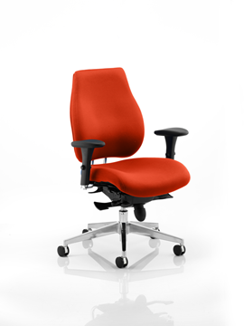 Picture of Office Chair Company Chiro Plus Bespoke Colour Pimento