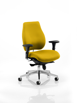 Picture of Office Chair Company Chiro Plus Bespoke Colour Sunset