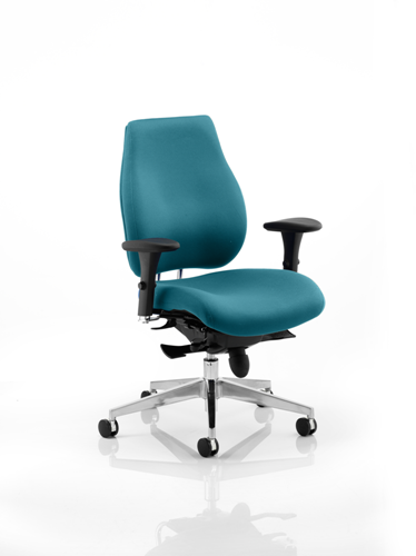 Picture of Office Chair Company Chiro Plus Bespoke Colour Kingfisher