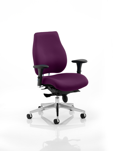 Picture of Office Chair Company Chiro Plus Bespoke Colour Purple
