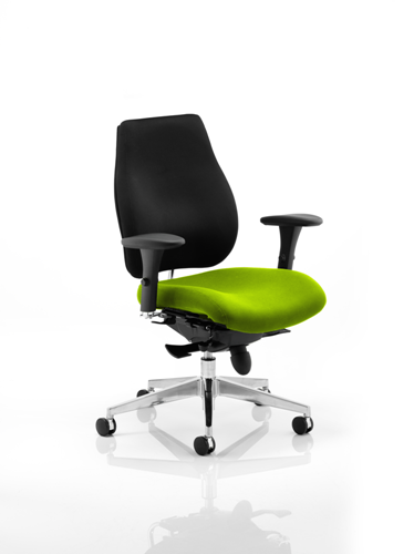 Picture of Office Chair Company Chiro Plus Bespoke Colour Seat Swizzle