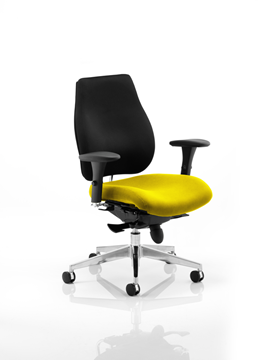 Picture of Office Chair Company Chiro Plus Bespoke Colour Seat Sunset