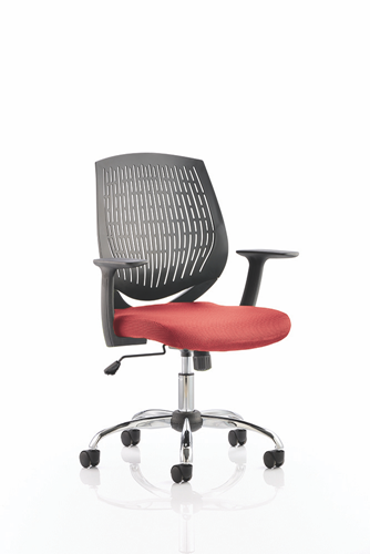 Picture of Office Chair Company Dura Bespoke Colour Seat Cherry