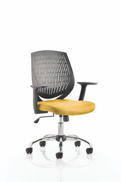 Picture of Office Chair Company Dura Bespoke Colour Seat Sunset
