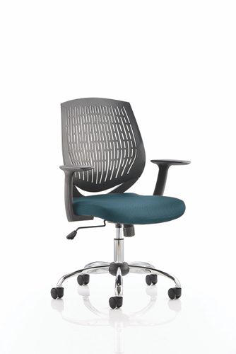 Picture of Office Chair Company Dura Bespoke Colour Seat Kingfisher