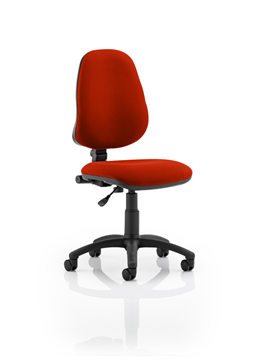 Picture of Office Chair Company Eclipse I Lever Task Operator Chair Bespoke Colour Pimento