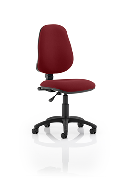 Picture of Office Chair Company Eclipse I Lever Task Operator Chair Bespoke Colour Chilli