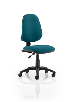 Picture of Office Chair Company Eclipse I Lever Task Operator Chair Bespoke Colour Kingfisher