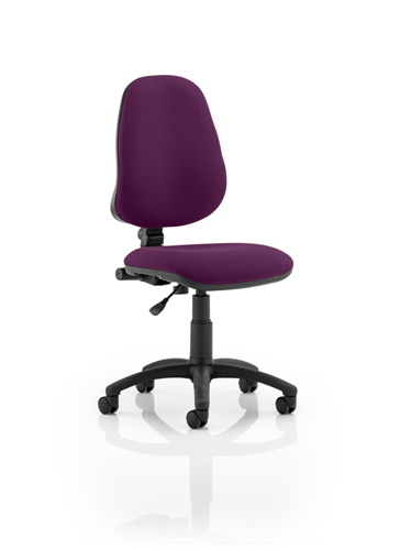 Picture of Office Chair Company Eclipse I Lever Task Operator Chair Bespoke Colour Purple
