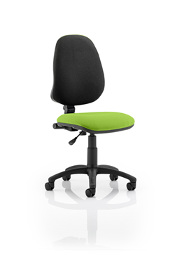 Picture of Office Chair Company Eclipse I Lever Task Operator Chair Bespoke Colour Seat Swizzle