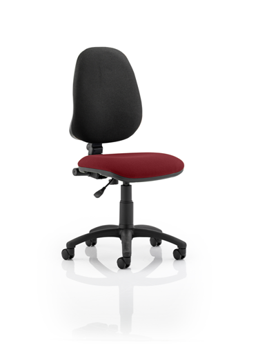 Picture of Office Chair Company Eclipse I Lever Task Operator Chair Bespoke Colour Seat Chilli