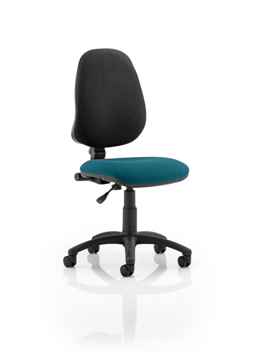 Picture of Office Chair Company Eclipse I Lever Task Operator Chair Bespoke Colour Seat Kingfisher